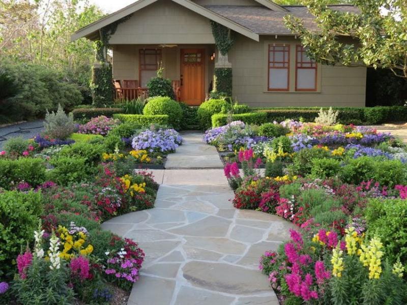 Mỗi sáng thức dậy nhìn thấy khu vườn nhỏ của mình, tinh thần sẽ thoải mái suốt ngày. Những cây hoa được chủ sở hữu sắp xếp rất đẹp mắt, nhìn như cánh đồng hoa thu nhỏ.