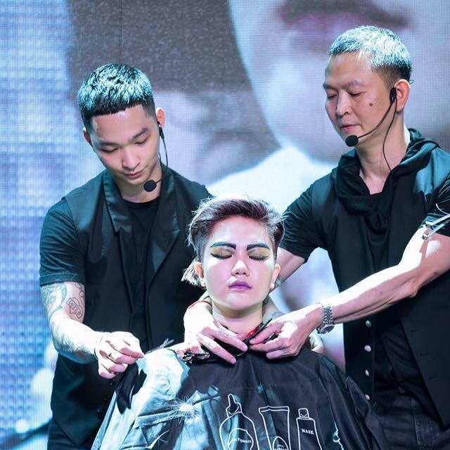 Nhà tạo mẫu tóc Hoàng Minh Tâm