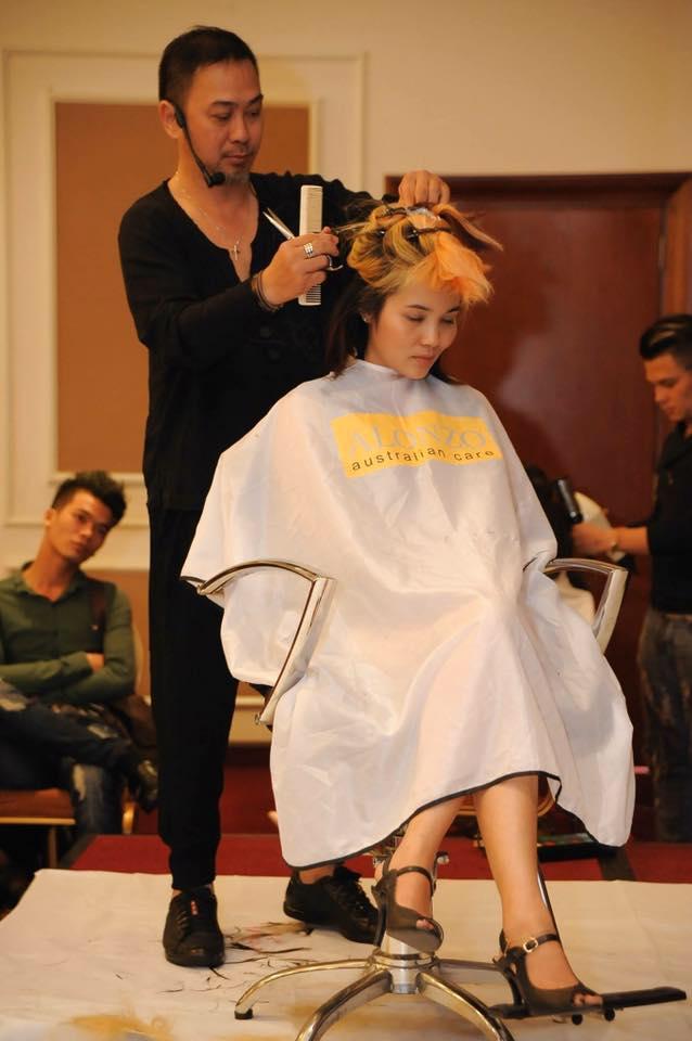 Nhà tạo mẫu tóc Trần Mạnh Thìn
