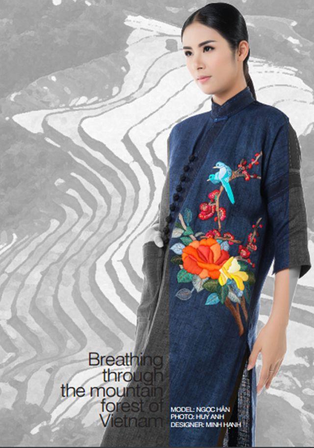Nhà thiết kế Minh Hạnh là sự lựa chọn hàng đầu của các hoa hậu Việt Nam