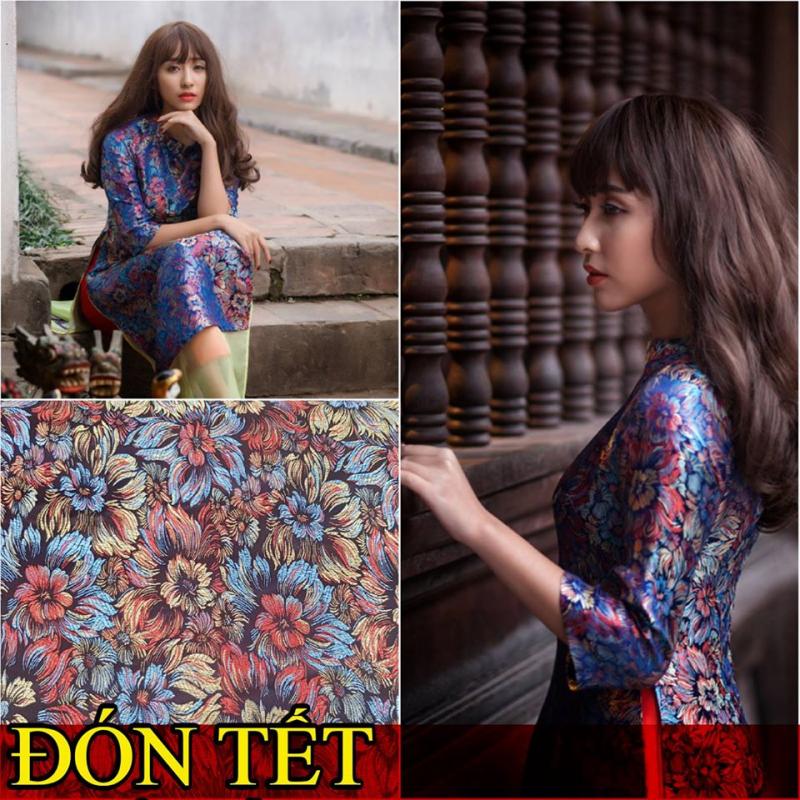 Thiết kế áo dài mới nhất đón xuân của nhà thiết kế Thanh Mai