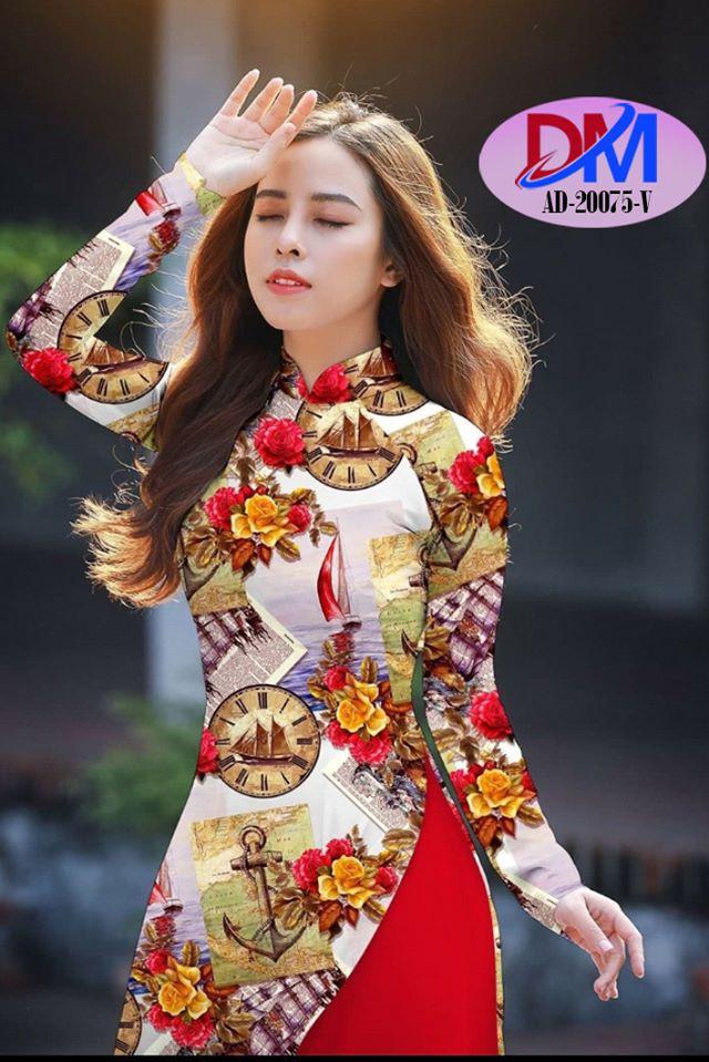 Thiết kế áo dài mới nhất của nhà thiết kế Thanh Mai