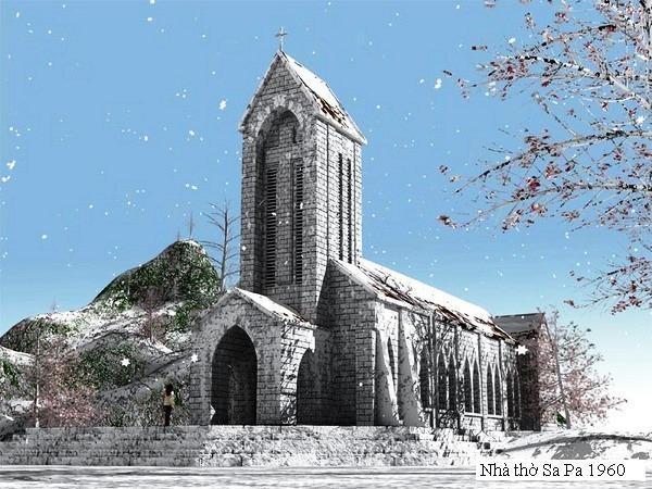 Nhà thờ đá - Sa Pa (Lào Cai)
