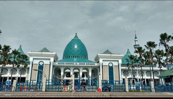 Toàn cảnh nhà thờ Hồi giáo Al-Akbar