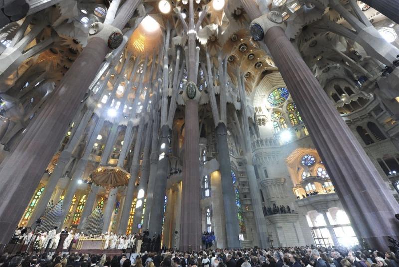 Nhà thờ Sagrada Familia, Tây Ban Nha