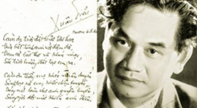 Nhà thơ Xuân Diệu - ông hoàng của thơ tình Việt Nam