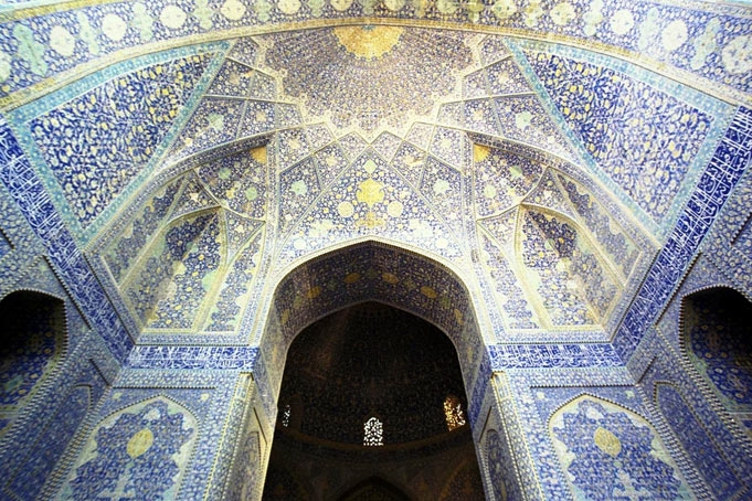 Nhà thời Hồi giáo Imam, Iran