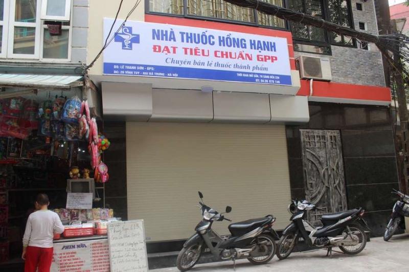 Nhà thuốc Hồng Hạnh