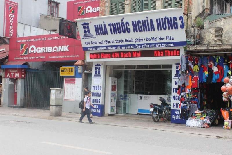 Nhà thuốc Nghĩa Hưng 3 - Bạch Mai