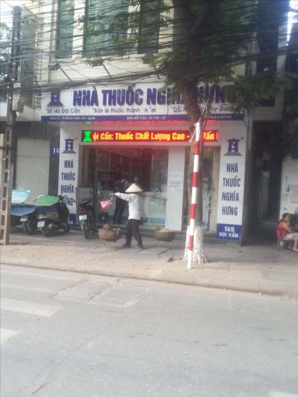 Nhà thuốc Nghĩa Hưng cơ sở 2 - 145 Đội Cấn, Ba Đình, Hà Nội