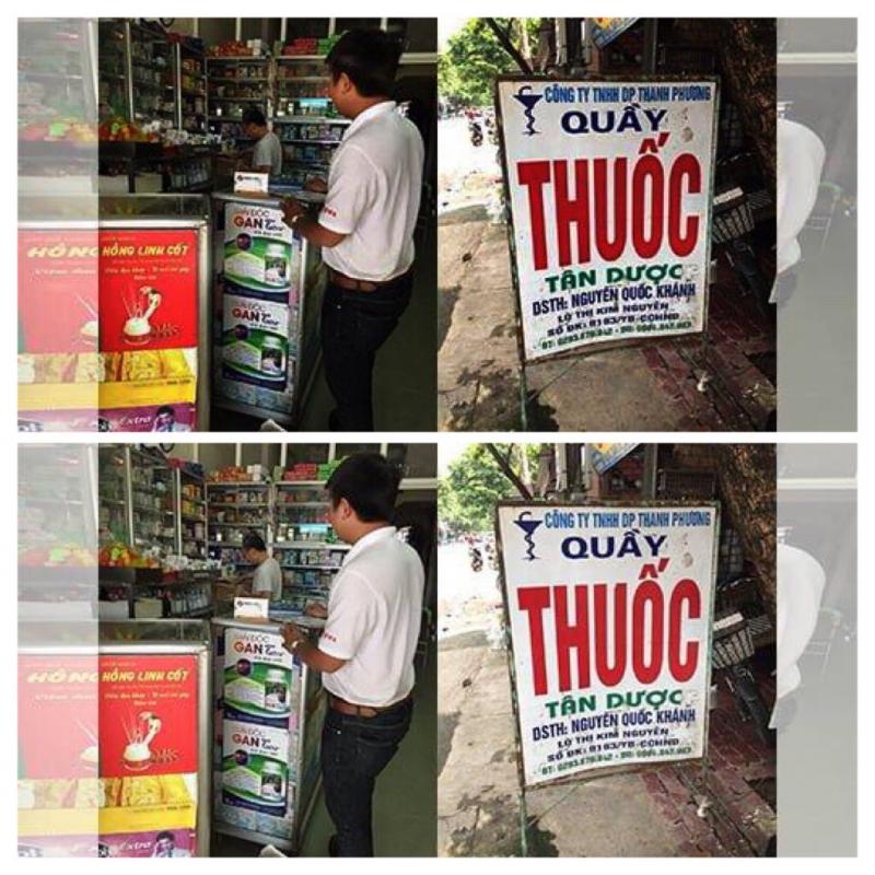 Quầy thuốc Tân Dược – Công ty TNHH TM DP Thanh Phương