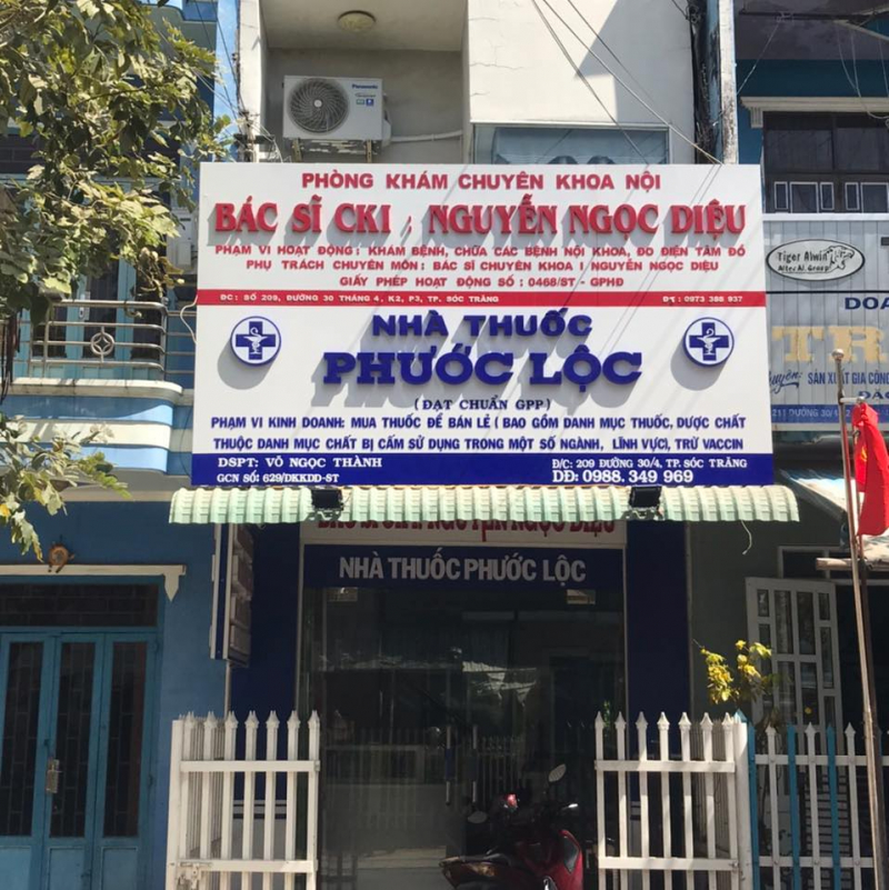Nhà thuốc Phước Lộc