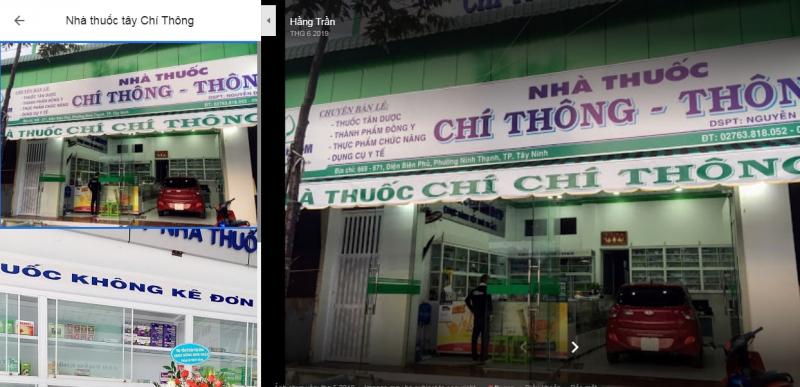 Nhà thuốc tây Chí Thông