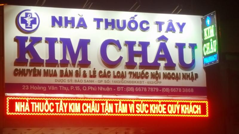 Nhà thuốc tây KIM CHÂU