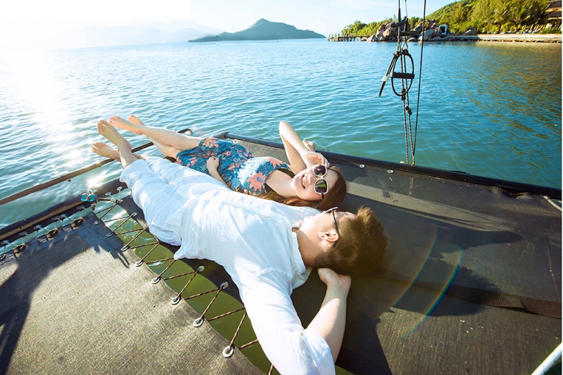Nha Trang là điểm đến tuyệt vời cho trăng mật kết hợp cùng du lịch nghỉ dưỡng