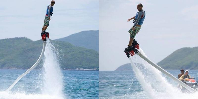 Flyboard - làm siêu anh hùng theo cách của bạn!