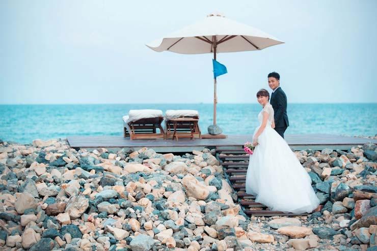 Vịnh Vân Phong địa điểm chụp ảnh cưới đẹp của Khánh Hoà