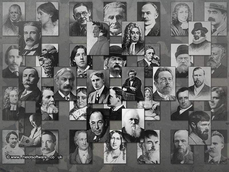 Top 30 nhà văn vĩ đại nhất mọi thời đại