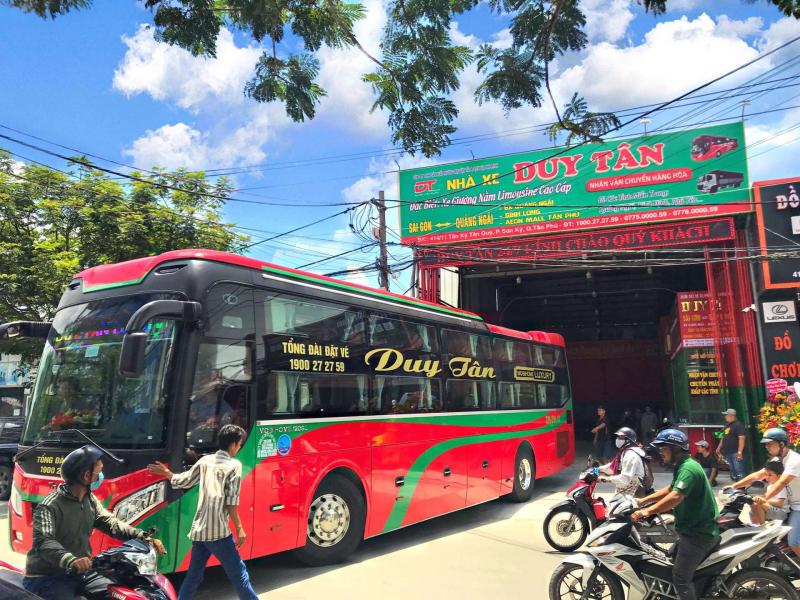 Nhà xe Duy Tân