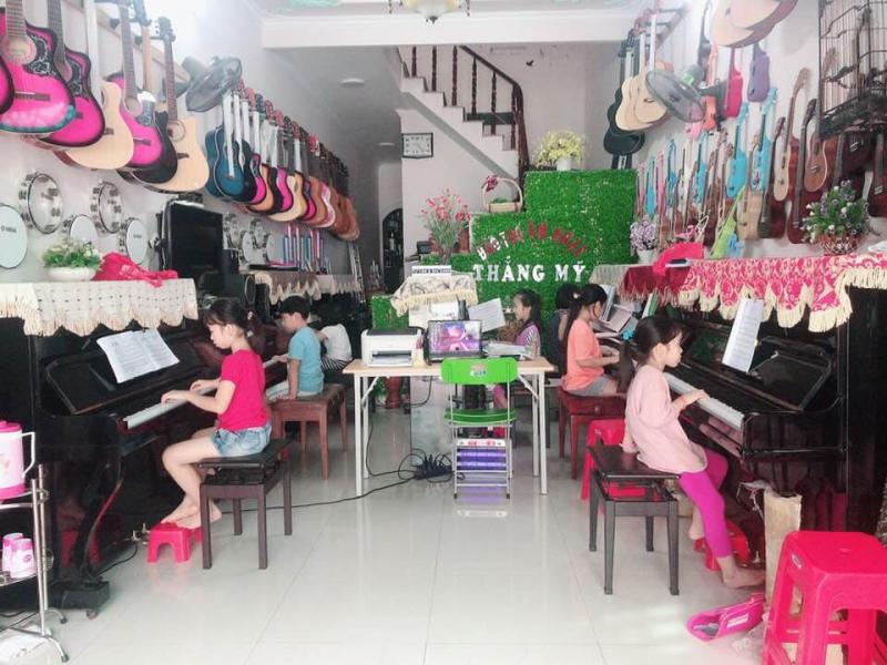 Lớp học tại Nhạc cụ Vũng Tàu