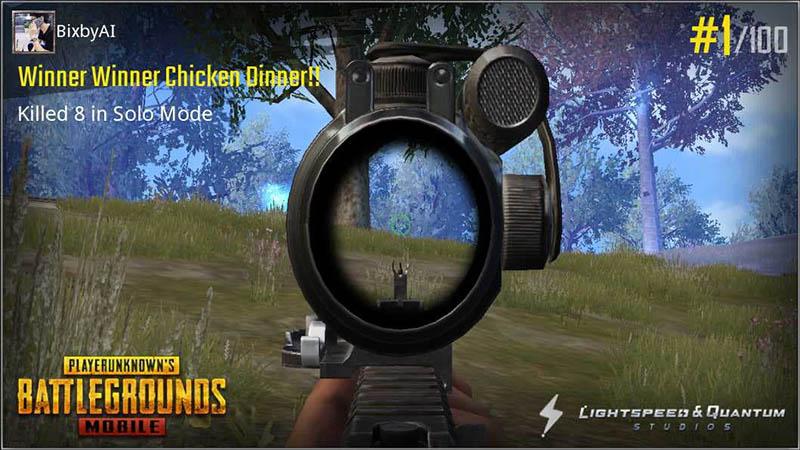 Nhắm kỹ mục tiêu trước khi bắn