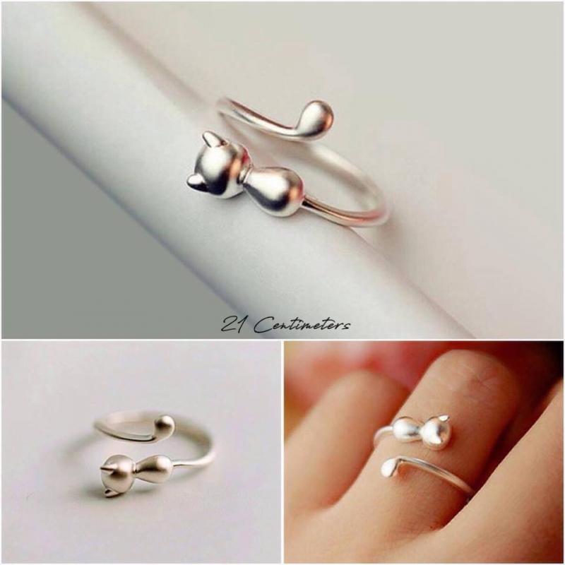 Nhẫn bạc 21 centimeters