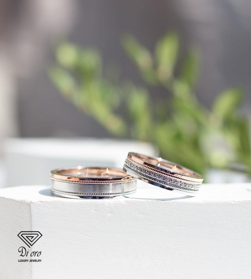 Nhẫn cưới đẹp Dioro Luxury