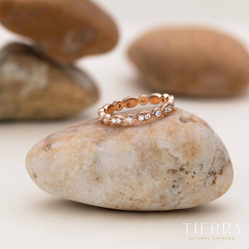 Nhẫn cưới nữ Eternity NCF0105