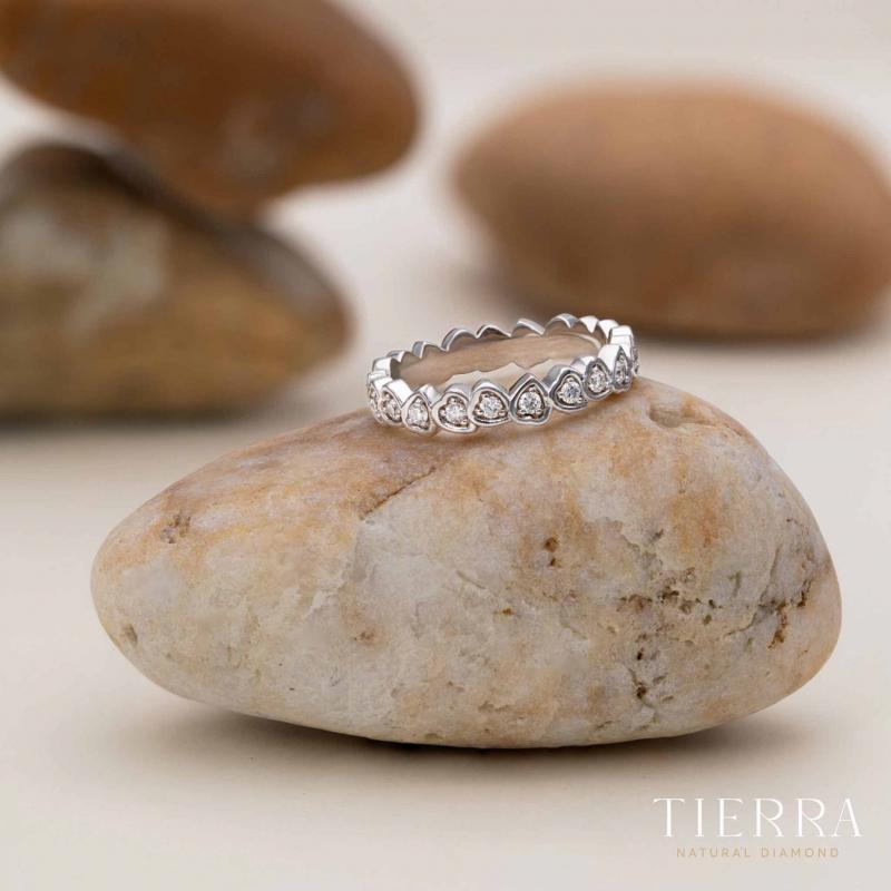 Nhẫn cưới nữ Eternity NCF0133