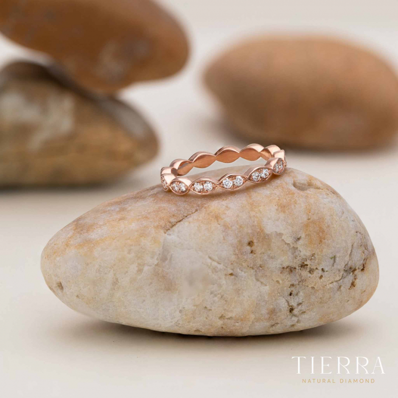 Nhẫn cưới nữ Eternity NCF0136