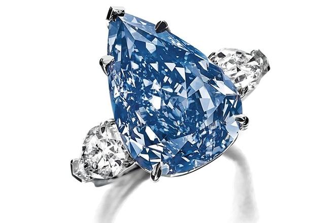 Nhẫn kim cương The Winston Blue