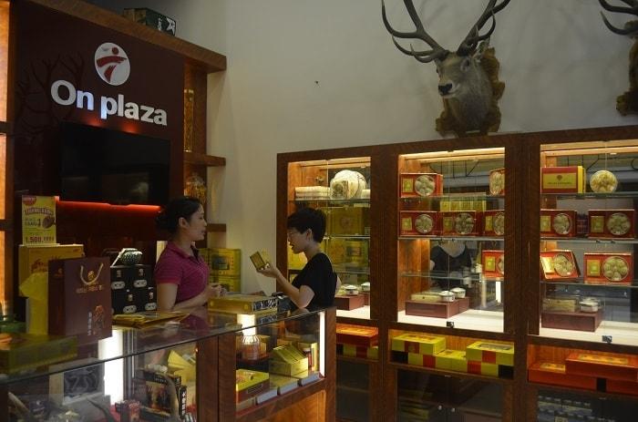 Một showroom của Onplaza
