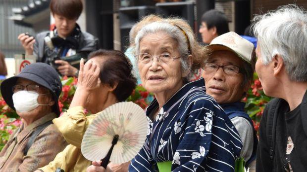 Nhật Bản là một trong những nước có tuổi thọ dân số cao