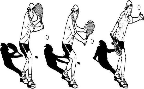 Công việc chính của bạn là đứng sân bóng quan sát khi nào bóng rớt thì nhặt bóng và ném lại cho khách.