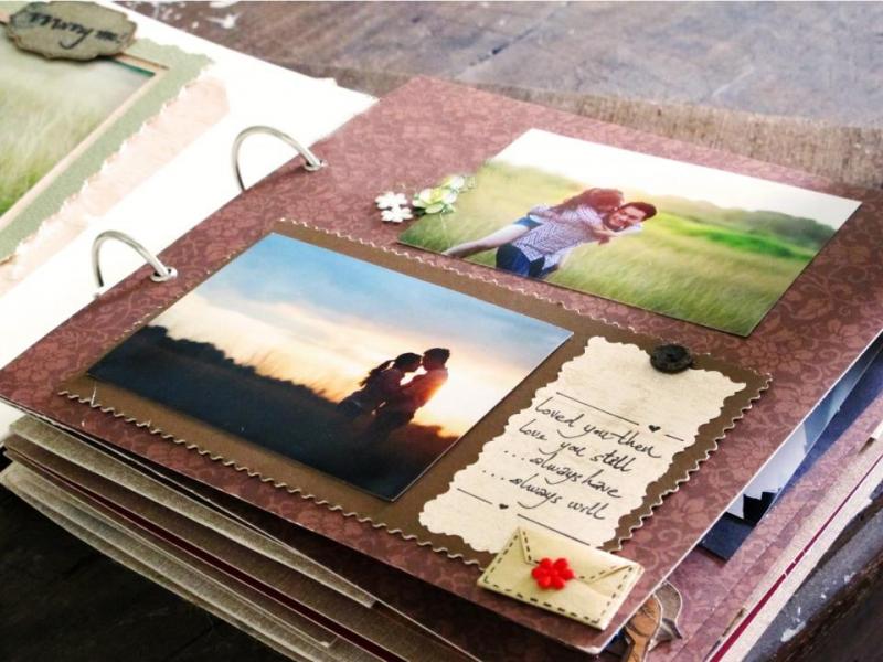 Hãy làm 1 cuốn nhật ký bằng ảnh