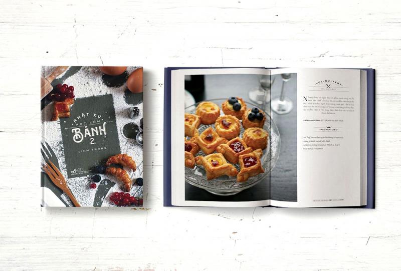 Điểm nổi bật của Nhật kí làm bánh tập 2 chính là mỗi loại bánh ngoài công thức còn có hình ảnh minh họa vô cùng đẹp mắt và sống động.