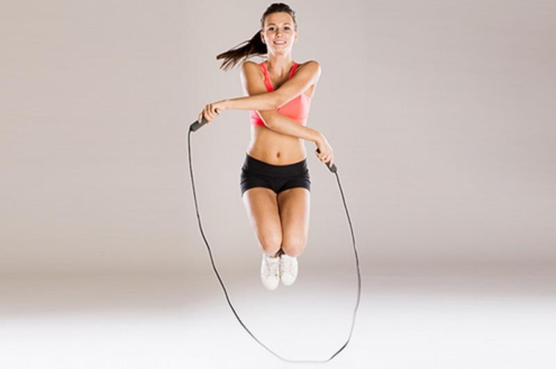 Nhảy dây cũng là một cách đốt cháy calo hiệu quả