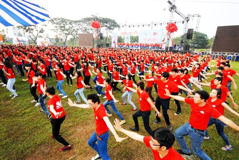 nhay flashmob