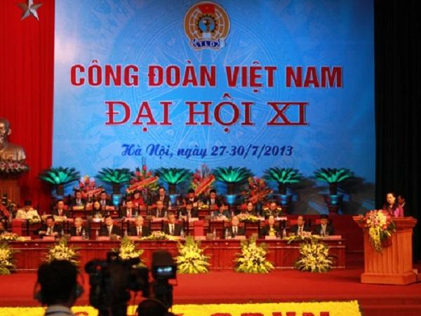 Công đoàn Việt Nam bảo vệ lợi ích cho công nhân, viên chức và lao động