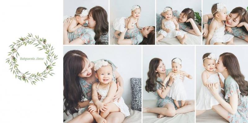 Mẹ và bé yêu