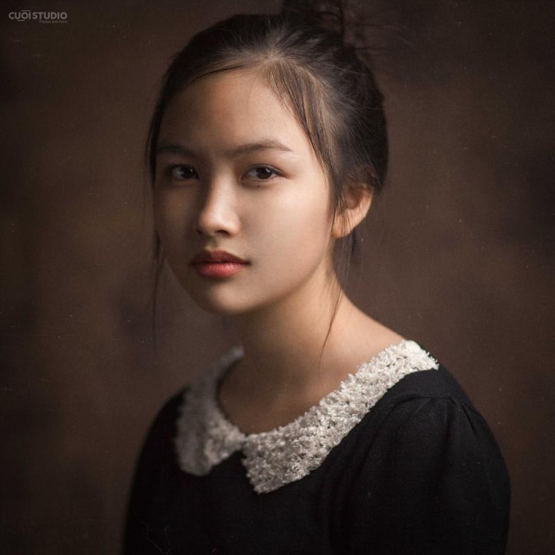 Bức ảnh chân dung theo phong cách cổ điển dành 96,8 điểm - đứng ngang tầm với nhiều bức hình của các nhiếp ảnh gia có tiếng trên thế giới.