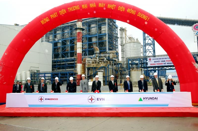 Lễ phát điện thương mại Nhà máy Nhiệt điện Mông Dương 1