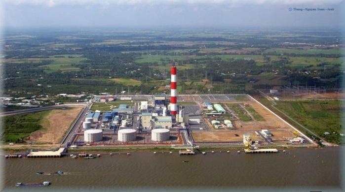 Trung tâm nhiệt điện Ô Môn được quy hoạch với tổng công suất là 2.800MW