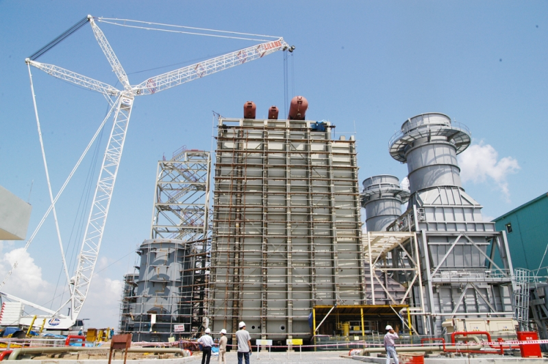 Trung tâm điện lực Phú Mỹ chiếm tới 40% tổng công suất điện năng của cả nước