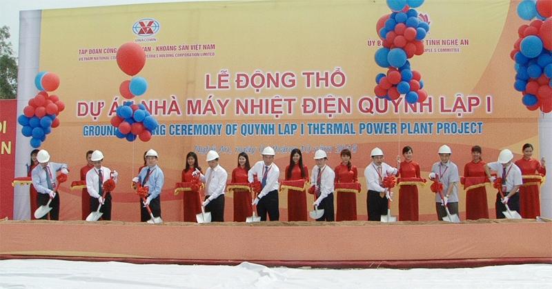 Lễ động thổ Dự án Nhà máy Nhiệt điện Quỳnh Lập 1