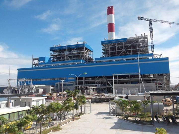 Nhà máy Nhiệt điện Vĩnh Tân 1 có công suất hoạt động là 1.200 MW