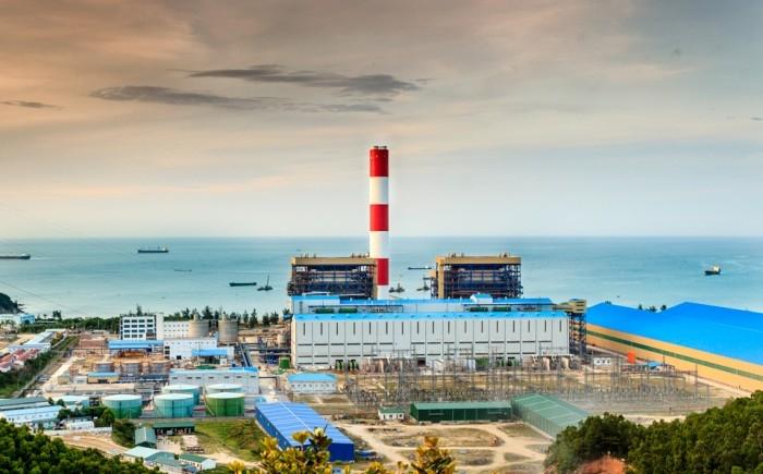 Toàn cảnh Nhà máy Nhiệt điện Vũng Áng 1