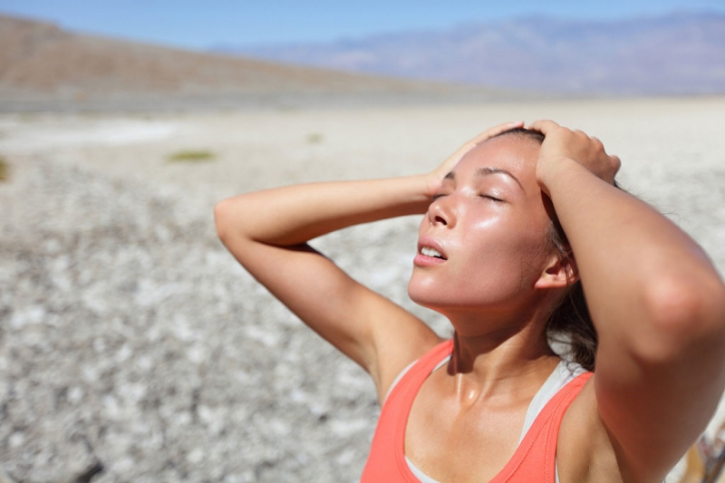 Nhiệt độ cơ thể tăng lên gây nhiều ảnh hưởng xấu