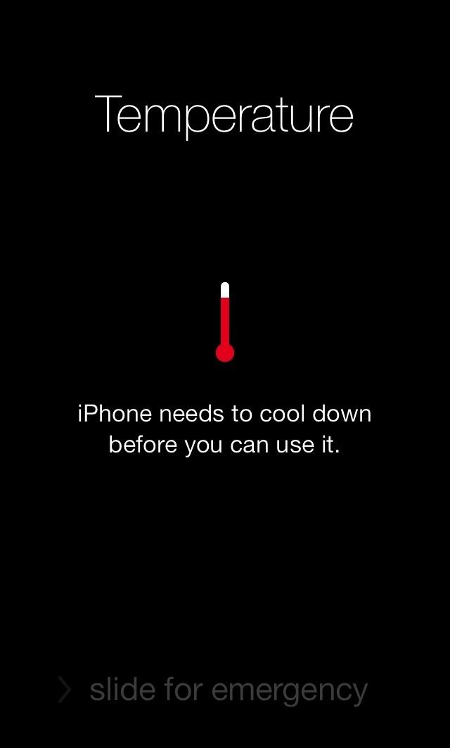 Hãy giữ cho nhiệt độ iPhone của bạn luôn ổn định