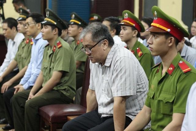 Bị cáo Phạm Công Danh trong buổi tuyên án